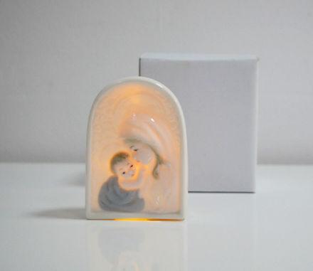 Slika Ikona sa LED rasvjetom  porculan 10 cm
