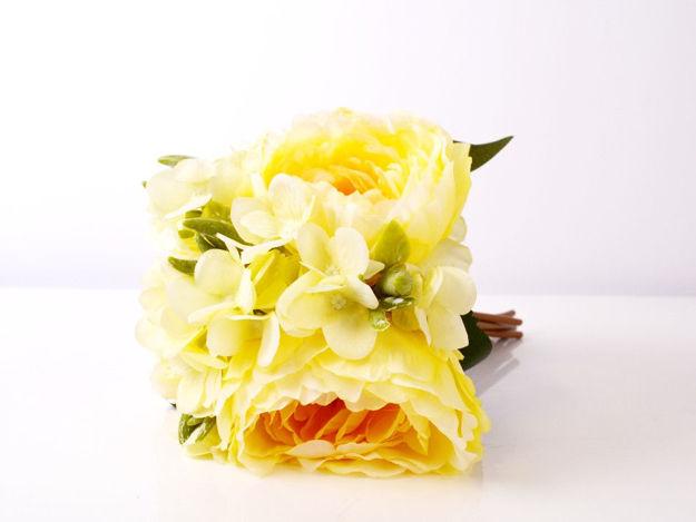 Slika Buket peonija/hortenzija 30 cm