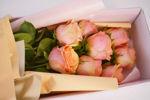 Slika Flower box - ruže u boji