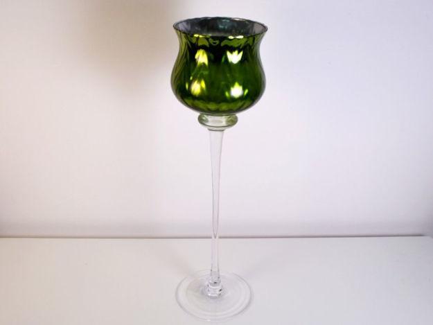 Slika Vaza/svijećnjak staklo 60 cm