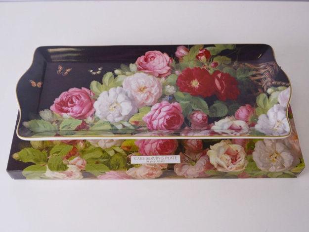 Slika Tanjur porculan 35 cm x 15 cm