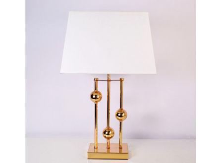 Stolna bijela lampa 04