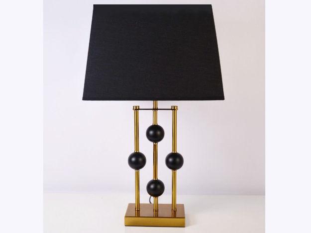 Stolna crna lampa 02