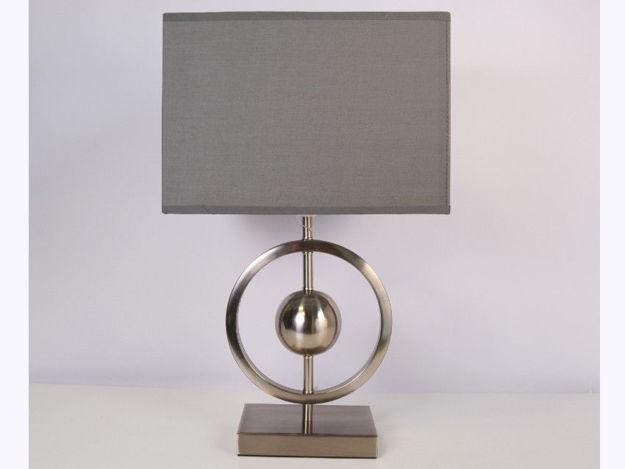 Stolna siva lampa 02