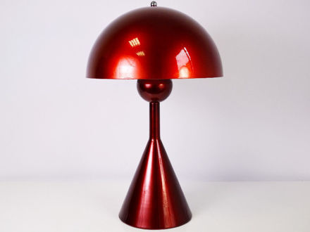 Stolna crvena lampa 01