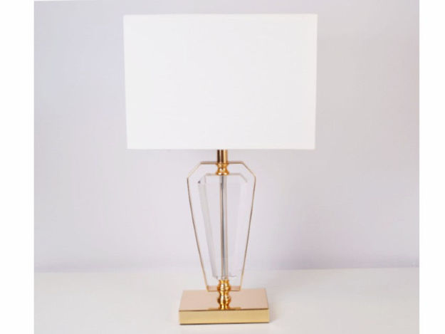 Stolna bijela lampa 01