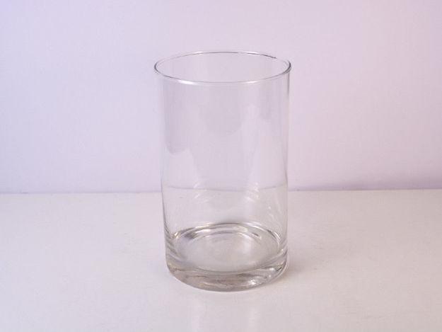Slika Vaza cilindar staklo 25 cm x 15 cm