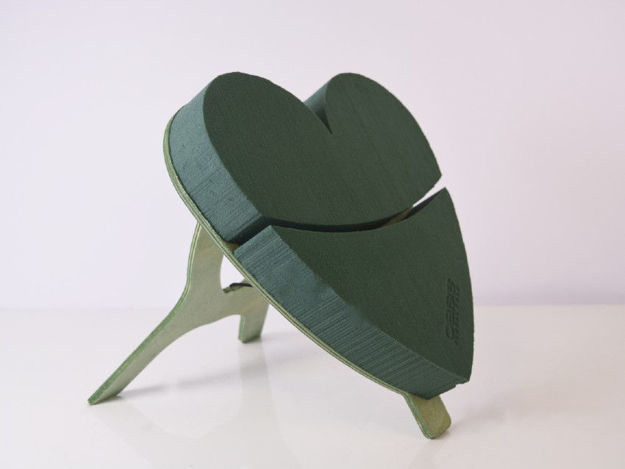 Slika Srce samostojeće spužva 30 cm