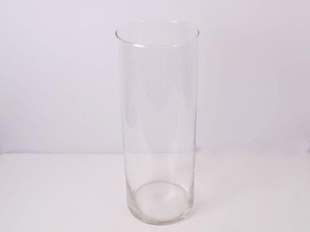 Slika Vaza staklo cilindar 15 cm x 40 cm