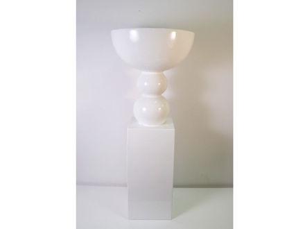 Slika Vaza s postamentom polyresin 100 cm