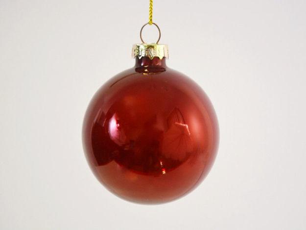 Slika Božićne kuglice S/4 staklo 6 cm