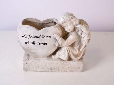 Slika Posuda s anđelom 20 cm x 9 cm x 16.5 cm