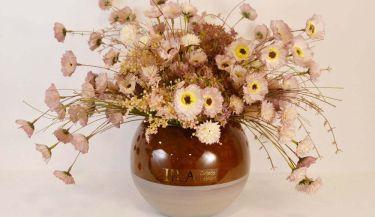 Aranžman od umjetnog cvijeća za uređenje interijera 14