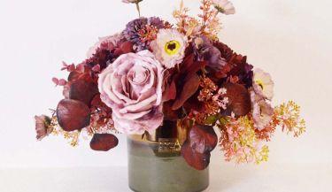 Aranžman od umjetnog cvijeća za uređenje interijera 15