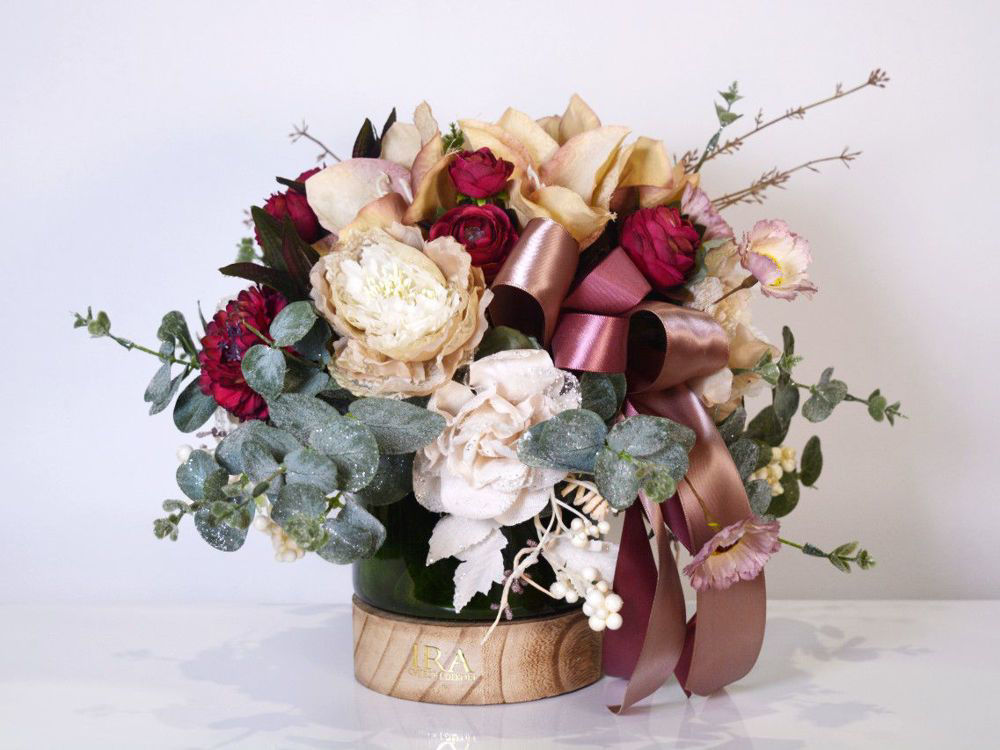 Aranžman - trajno cvijeće 420 kn